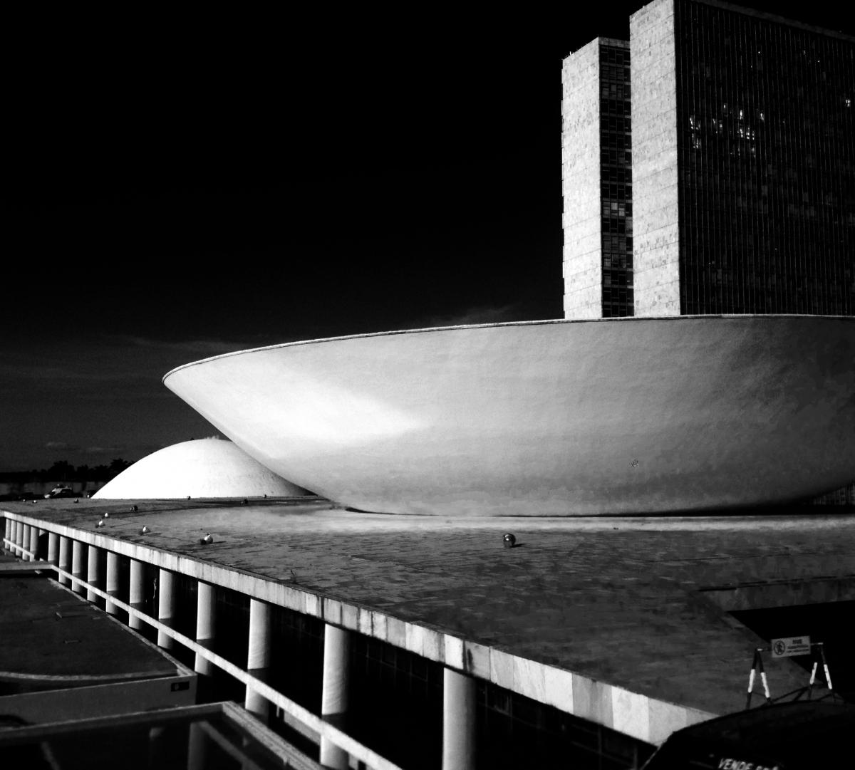 National Congress Palace in Brasilia