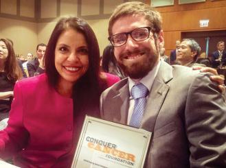 Dr. Arti Hurria and Dr. Enrique Soto