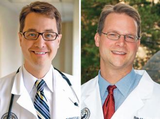 Drs. Thomas Flaig and Wells Messersmith