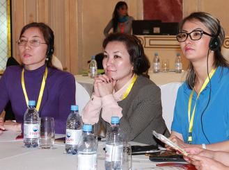 Attendees of the International Palliative Care Workshop in Kazakhstan
