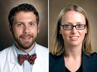 Drs. Daniel Stover and Leora Horn