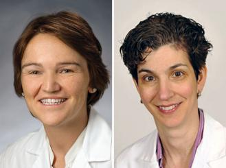 Composite image of Dr. Lynce and Dr. Isaacs