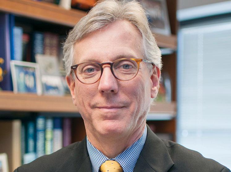 Dr. Daniel F. Hayes headshot