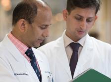 Dr. Jame Abraham and Dr. Mukesh Shanthilal
