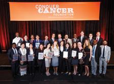 Photo of IDEA awardees at the 2017 ASCO Annual Meeting.